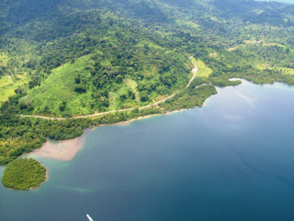 COUNTRYSIDE PROPERTY, WATERFRONT, FOR SALE, CHANGUINOLA, ALMIRANTE, BOCAS DEL TORO, PANAMA, SE VENDE
