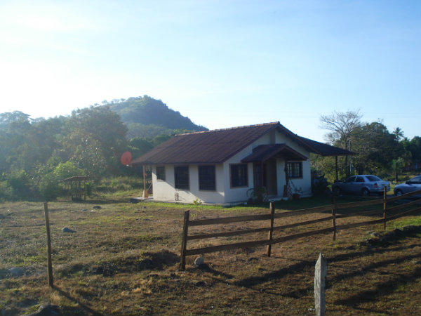 A house located near David, Chiriqui