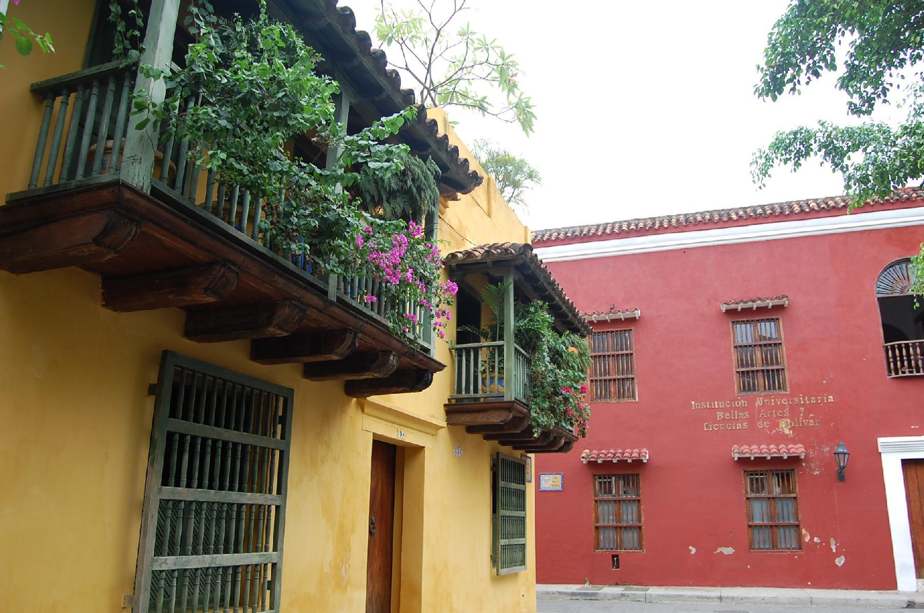 CARTAGENA EL CENTRO SAN DIEGO PLAZA HOUSE