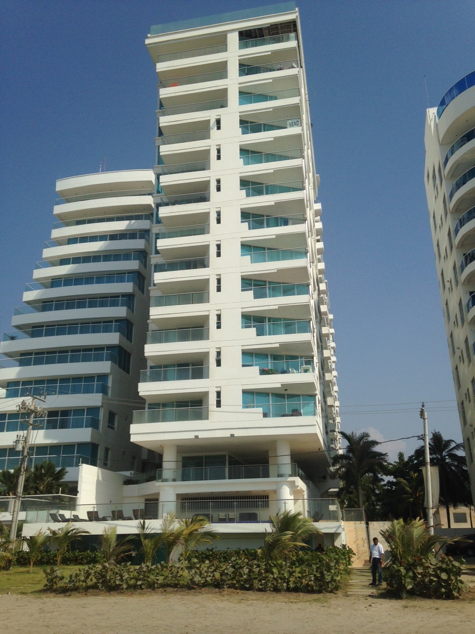 Cartagena LA BOQUILLA Porto Vento Beachfront apartment