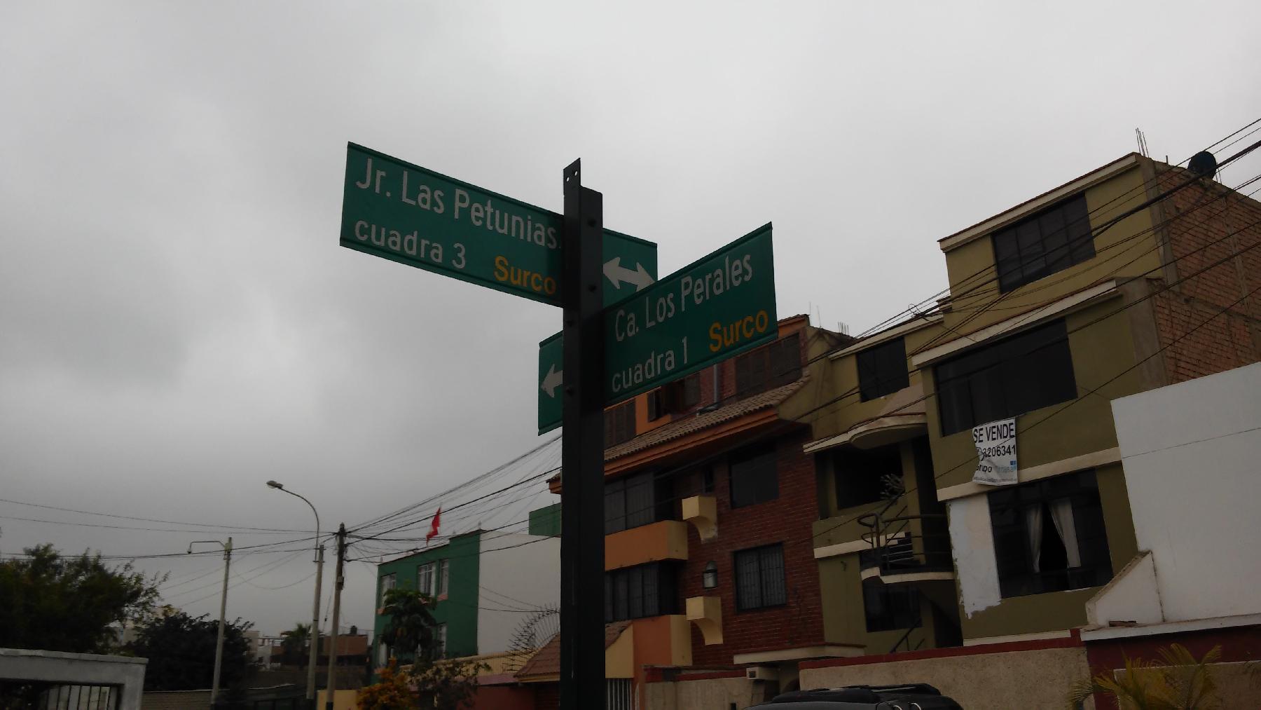 SANTIAGO DE SURCO DUPLEX 4 BEDROOMS