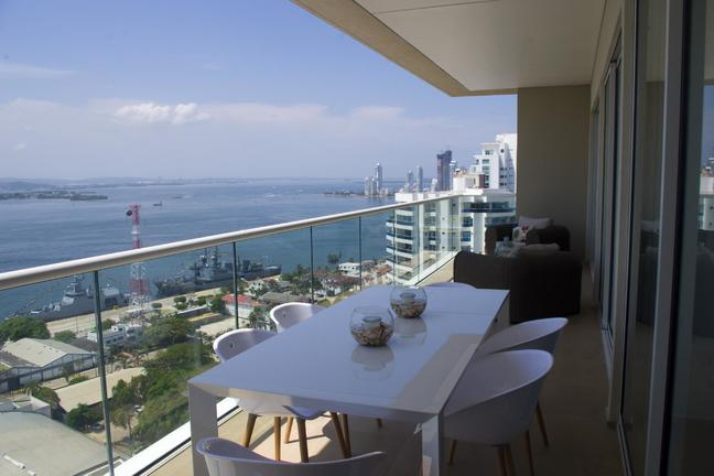 Cartagena Hyatt (H2) luxury apartment Corner Unit