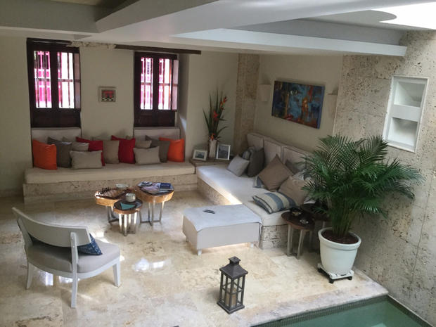 CARTAGENA HISTORIC  WALLED OLD CITY  3 BEDROOM HOUSE
