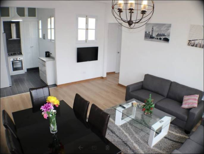 LIMA, MIRAFLORES,CALLE DIEZ CANSECO, FURNISHED 2 BED