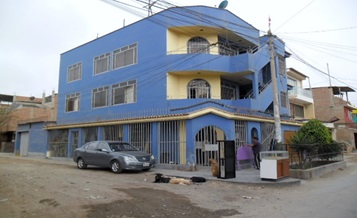 LIMA VILLA EL SALVADOR 3 STORY PROPERTY 4 BEDROOMS