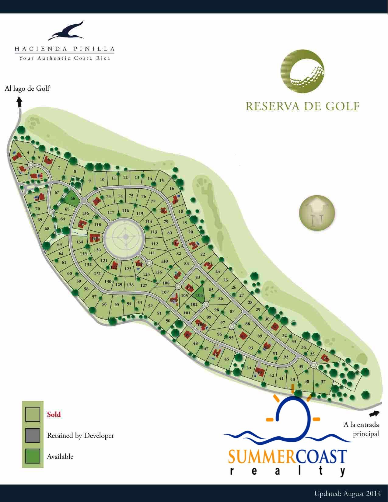 Hacienda Pinilla Residential Lots