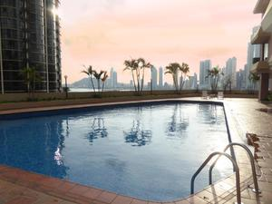 Apartment swimming pool paitilla