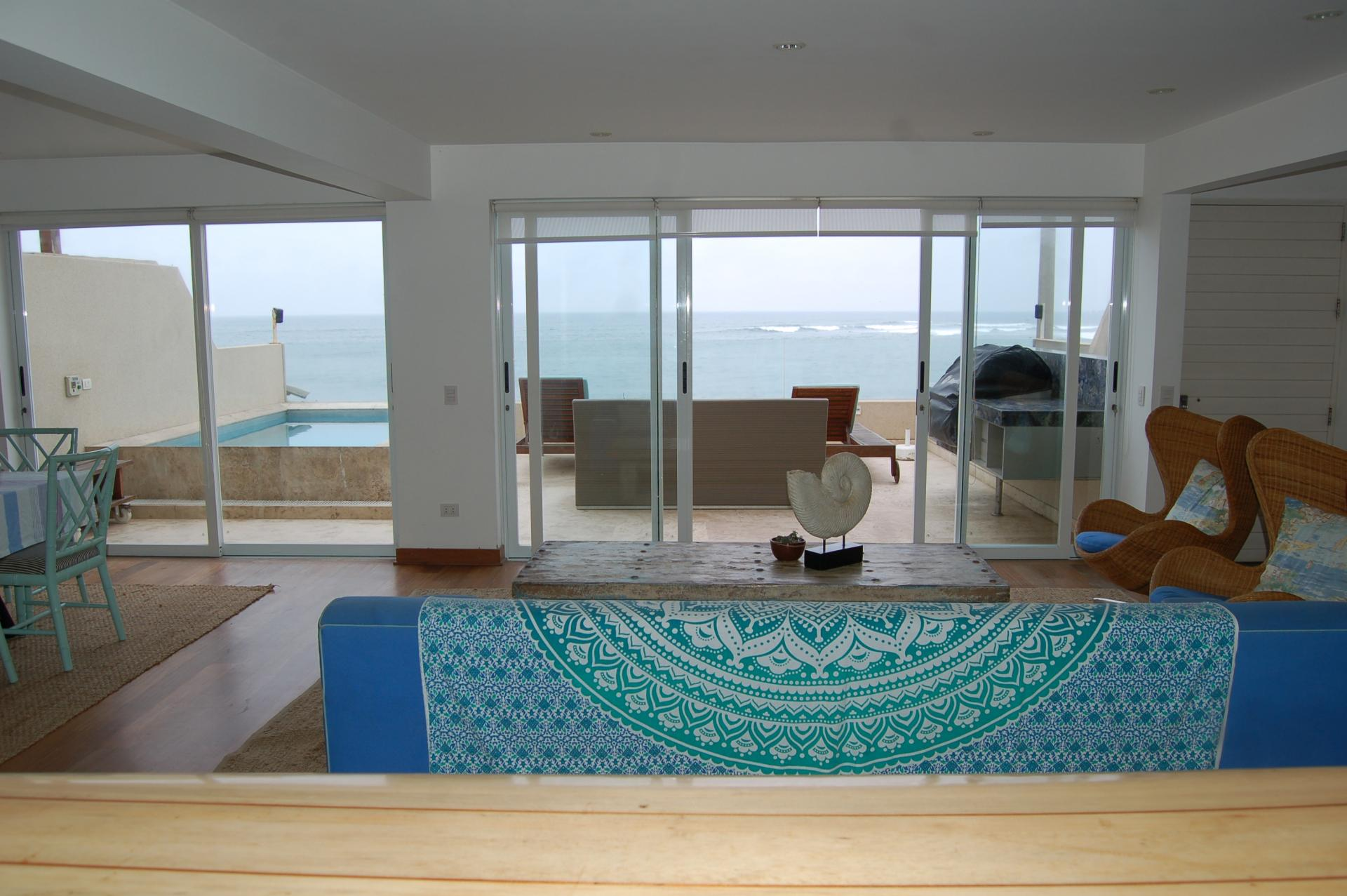 LIMA, PUNTA HERMOSA, PLAYA SEÑORITAS, 6 BEDROOM BEACH HOUSE, FOR SALE