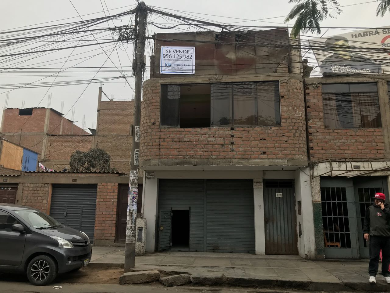 2 LEVEL COMMERCIAL AND RESIDENTIAL BUILDING, SAN JUAN DE LURIGANCHO